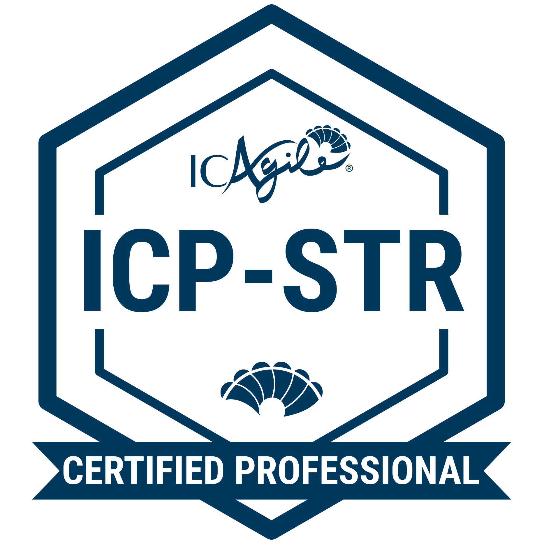 ICP-STR badge